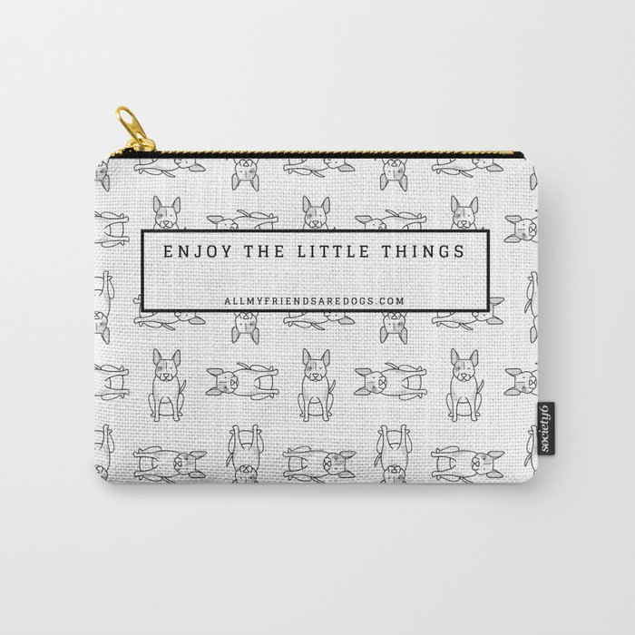 Kiana the Mixed Breed Carry-All Pouch