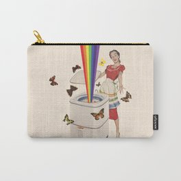 Rainbow Washing Machine Carry-All Pouch