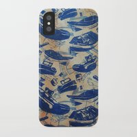 boats iPhone & iPod Cases featuring Boats by Heather Fraser