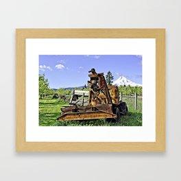 Parkdale Oregon - Valley Of Trees Framed Art Print