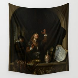 """Gerard Dou """"The Doctor"""" Wall Tapestry"""
