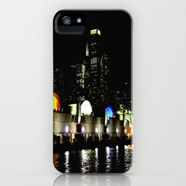 Navy Pier in Living Color: View from the Lake (Chicago Architecture Collection) iPhone Case