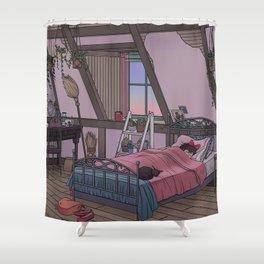 Kiki's Room Shower Curtain