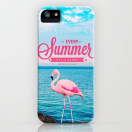 Every summer has a story iPhone Case