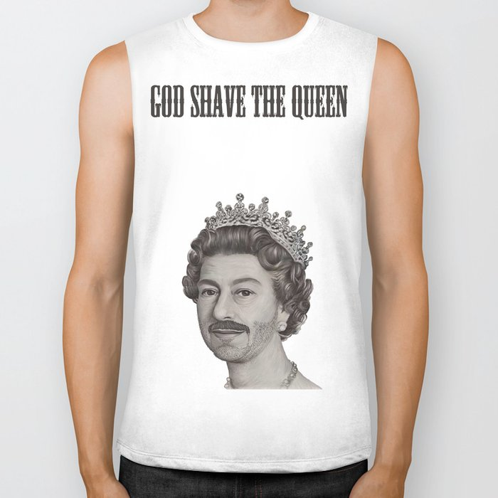 God shave the Queen Biker Tank