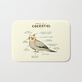 Anatomy of a Cockatiel Bath Mat