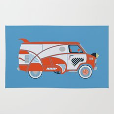 Pee Wee's Big Adventure Van Rug
