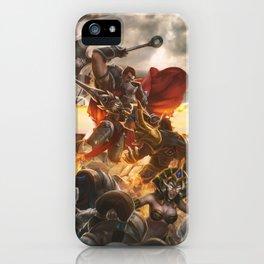 Noxian-Demacian war iPhone Case
