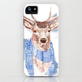 Winter Deer iPhone Case