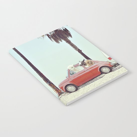 NEVER STOP EXPLORING - CAMPING PALM BEACH Notebook