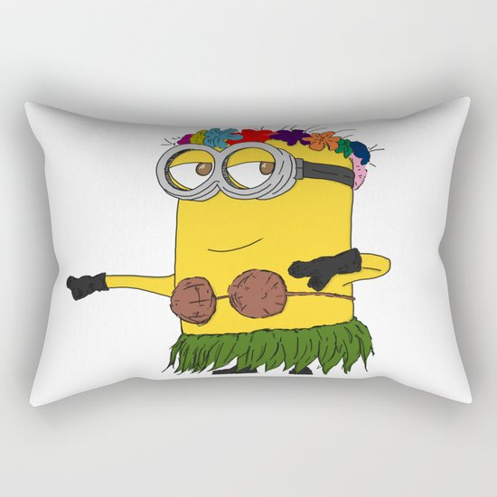 Hawaii Minion  Rectangular Pillow