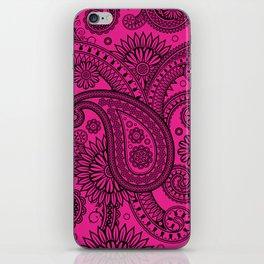 Paisley Pink iPhone Skin