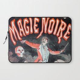Musee grevin magie noire, 1887, Jules Cheret, -Vintage poster Laptop Sleeve