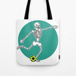 Calavera Soccer Tote Bag