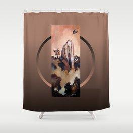 Flight of the Kukupa Shower Curtain