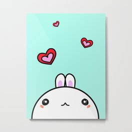 Love Little Bunny Ronnie Metal Print