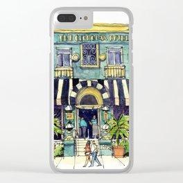 The Georgian Hotel Clear iPhone Case