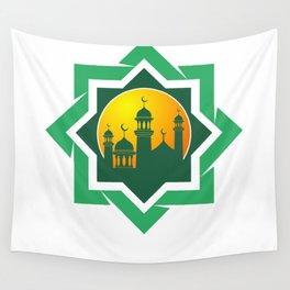 Symbol of Muslim Wall Tapestry