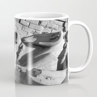 guardians Mugs featuring Loyal Guardians by Brian Raggatt
