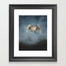 From the mist cometh mystery Framed Art Print