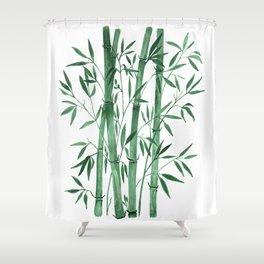 Bamboo 1 Shower Curtain