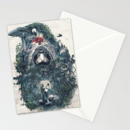Beware The Door Stationery Cards