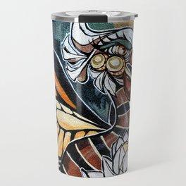 Bird Graffiti Travel Mug