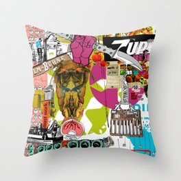 Must Work Throw Pillow