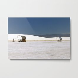 Picknick At White Sands Metal Print