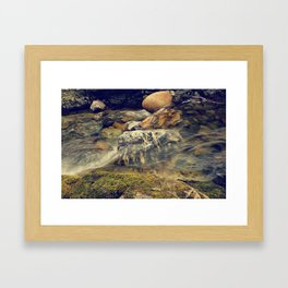 Wash Over Me Framed Art Print