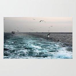 enjoy ferry in Istanbul Rug