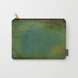 Shades of Green Texture Carry-All Pouch