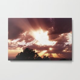 Close Encounters of the Third Kind Metal Print