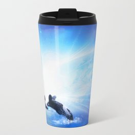 Orca Dance Travel Mug