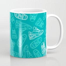 Sneakers // Turquoise Coffee Mug