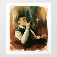Tommy Shelby * Peaky Blinders Art Print