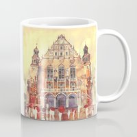 takmaj Mugs featuring Poznań by takmaj