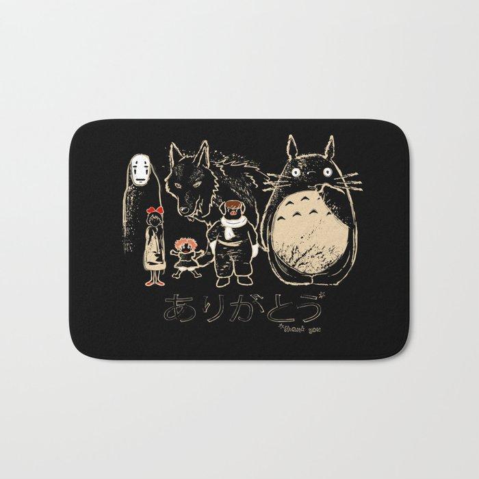 Tribute for Miyazaki Bath Mat
