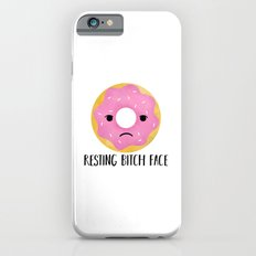 Resting Bitch Face | Pink Sprinkled Donut Slim Case iPhone 6s
