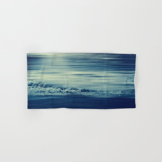 seaStream - abstract seascape Hand & Bath Towel