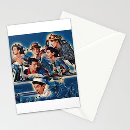 Friends Tv Show Merchandise Picture Joey Ross rachel Stationery Cards