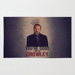 I'm Crowley - Supernatural Rug