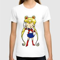 sailor moon T-shirts featuring Sailor Scout Sailor Moon by Space Bat designs