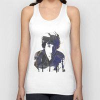 dylan Tank Tops featuring bob dylan by manish mansinh