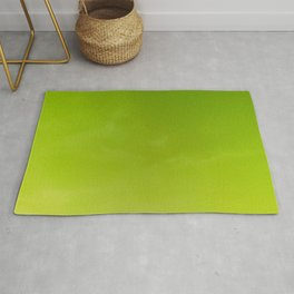Color gradient – green and yellow Rug