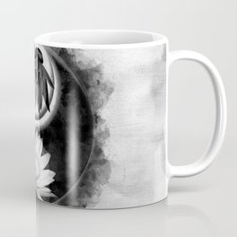Yin Yang - Lotus flowers Coffee Mug