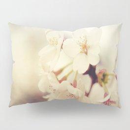 White Poppy Grudge Pillow Sham