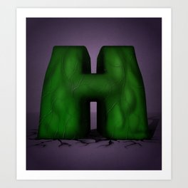 Superbet 'H' Art Print