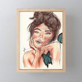 Jackie Framed Mini Art Print