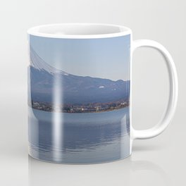 Mt.Fuji from lake Kawaguchiko, Japan Coffee Mug